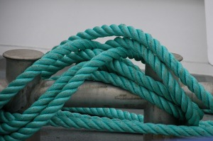 rope twists and turns